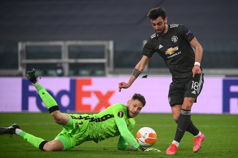 Ligue europa fernandes manchester united