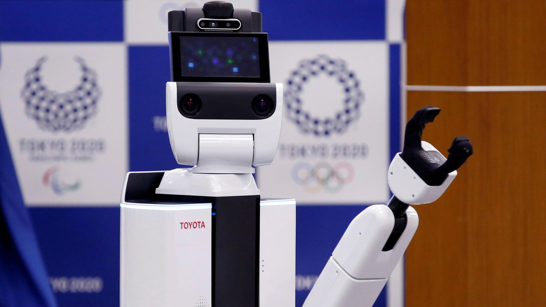El 'Human Support Robot' busca convertirse en una pieza clave del programa de robots de los Juegos Olímpicos de 2020.