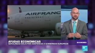 2020-04-25 03:16 Gobierno francés otorgará 7.000 millones de euros para recuperación de Air France