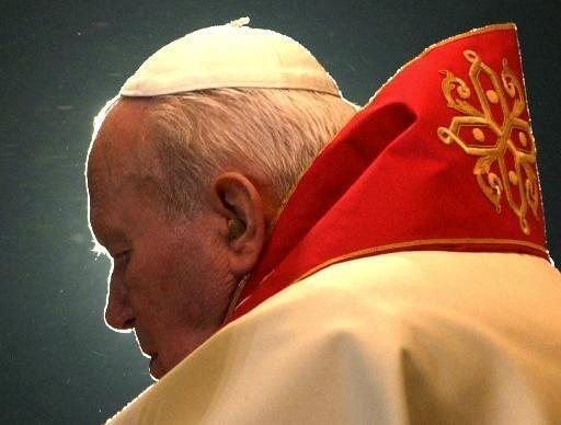 Le pape Jean-Paul II