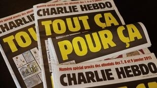 France S Charlie Hebdo Republishes Mohammed Cartoons At Start Of Terror Trial