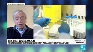 """2020-04-23 08:05 Pandémie de Covid-19 : """"On peut espérer un vaccin pour la fin de l'année"""""""