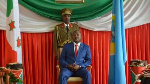 Le président Pierre Nkurunziza le 29 juin 2017.