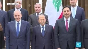"""2020-01-22 16:05 Nouveau gouvernement au Liban : """"ce gouvernement a été formé sans notre consentement, il nous a été imposé"""""""