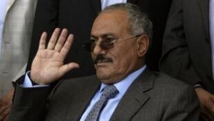 الرئيس اليمني السابق ورئيس حزب المؤتمر الشعبي العام علي عبد الله صالح