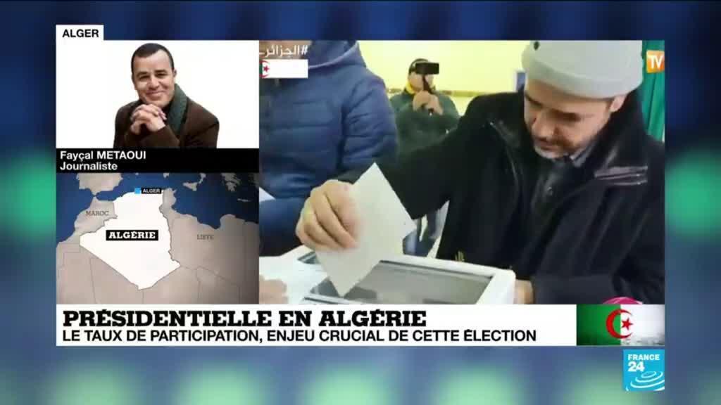 2019-12-12 10:36 Elections Algérie: des bureaux de vote ont été saccagés, rapporte le journaliste Fayçal Metaoui