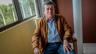 Pablo Beltrán, jefe negociador del ELN en las discusiones para la paz en La Habana. Mayo 28 de 2018.