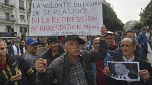 Algerie journaliste Hirak
