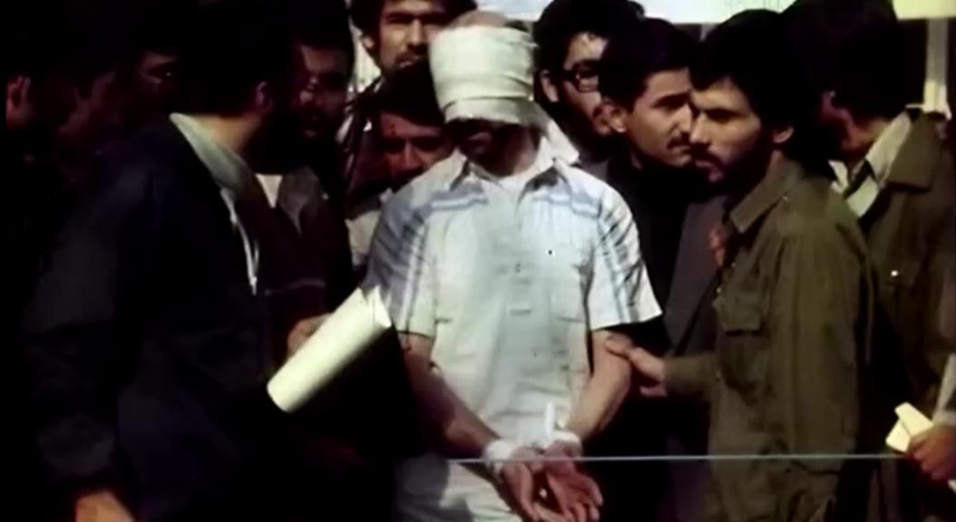 Archivo-Imágenes sobre la toma de rehenes ocurrida en la embajada de Estados Unidos, en Teherán, Irán, el 4 de noviembre de 2019.