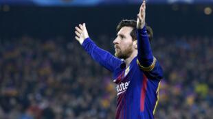 Avec le Barça, Messi a été étincelant face à Chelsea.