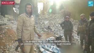 Sur la ligne de front avec les Forces démocratiques syriennes.