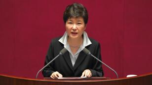 رئيسة كوريا الجنوبية بارك غيون-هي