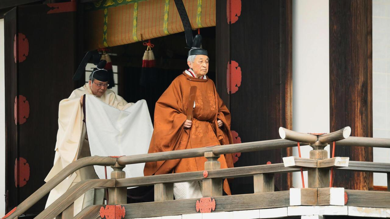 Japanese Emperor Akihito Set For Historic Abdication