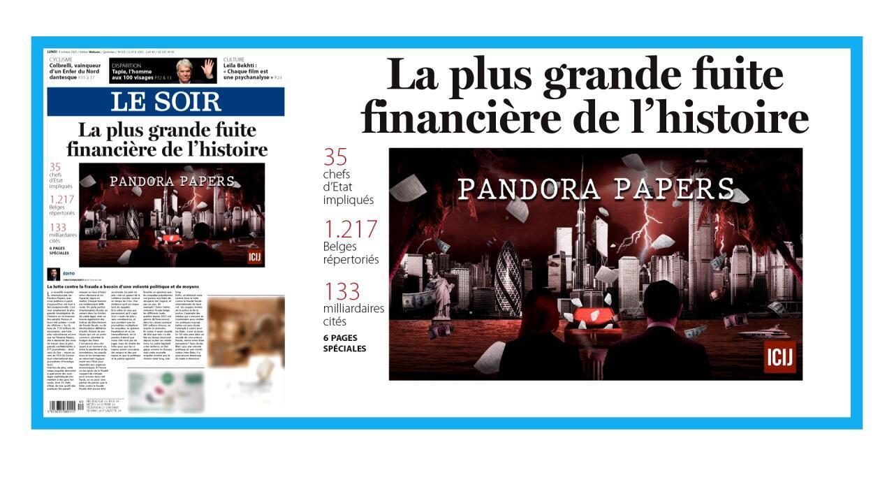 """Les """"Pandora Papers"""", plus grande fuite financière de l'histoire"""
