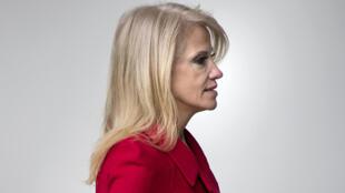 Kellyanne Conway est devenue une habituée des interventions télévisées.