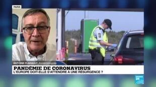 2020-06-15 16:07 Pandémie de coronavirus : l'Europe rouvre ses frontières mais reste vigilante