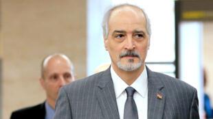 L'ambassadeur syrien à l'ONU, Bachar al-Jaafari, est le chef de la délégation du régime de Damas à Genève.