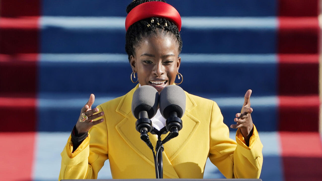 America captivated by young Black poet after inaugural reading