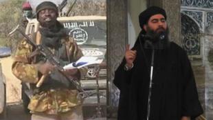 """Le chef de la secte Boko Haram Abubakar Shekau, a déclaré samedi 7 mars avoir fait """"allégeance"""" à l'EI, dirigée par Abou Bakr al-Baghdadi."""