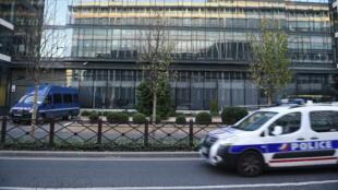 Photo des locaux de la sous-direction antiterroriste de Paris.
