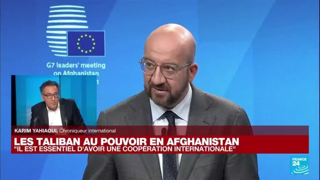 """2021-08-24 18:04 Les Taliban au pouvoir en Afghanistan : """"Il est essentiel d'avoir une coopération internationale"""""""
