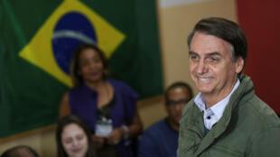 Le Brésilien Jair Bolsonaro, vainqueur de la présidentielle du 28 octobre 2018.