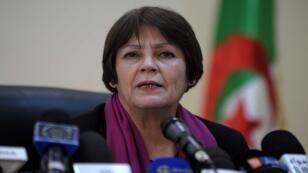 وزيرة التربية الوطنية الجزائرية نورية بن غبريت