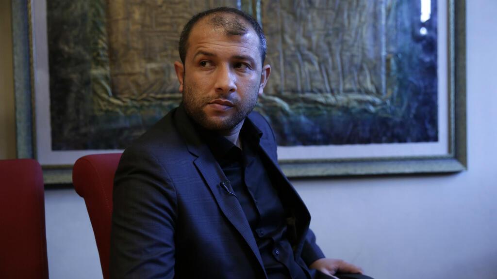Raed Saleh, le chef des Casques blancs syriens.