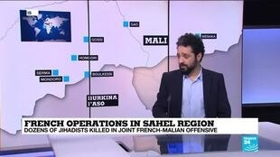 Wassim Nasr, FRANCE 24's expert on jihadi networks, discusses recent military successes for the French-led coalition in the Sahel.