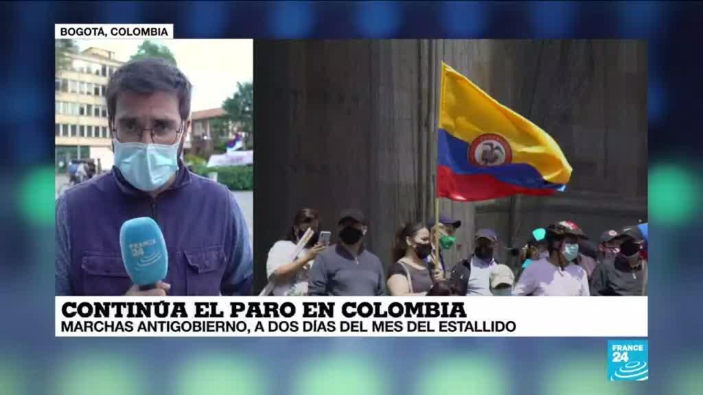 2021-05-27 01:05 Informe desde Bogotá: Claudia López envió un informe a la ONU sobre vulneraciones en las protestas