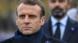 Emmanuel Macron, le 11 novembre 2019.