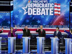 Warren shines, Sanders stays steadfast and Bloomberg takes a beating in Democratic debate