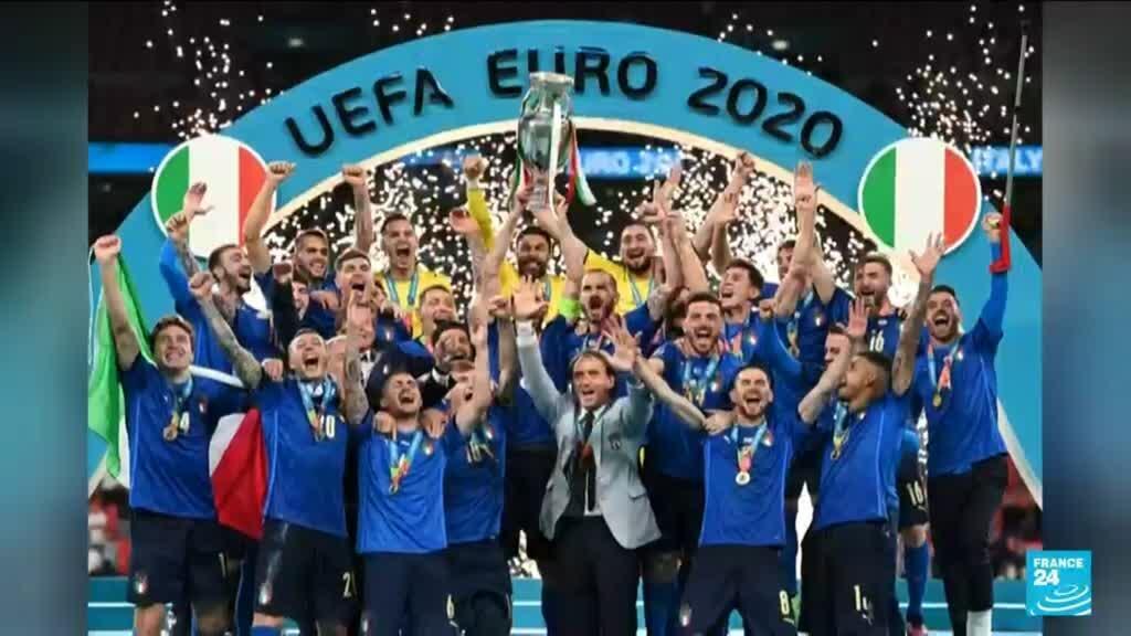 2021-07-12 11:01 Euro 2020 : 53 ans après son dernier sacre, l'Italie est de nouveau sur le toit de l'Europe