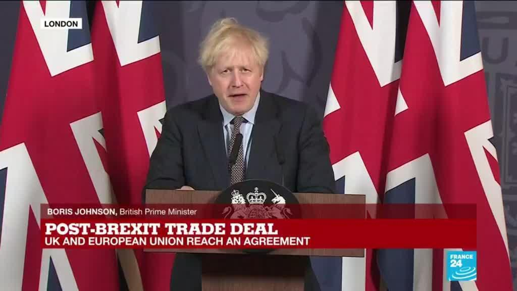 2020-12-24 16:26 REPLAY: Post-Brexit trade agreement 'a good deal for the whole of Europe', UK's Johnson says