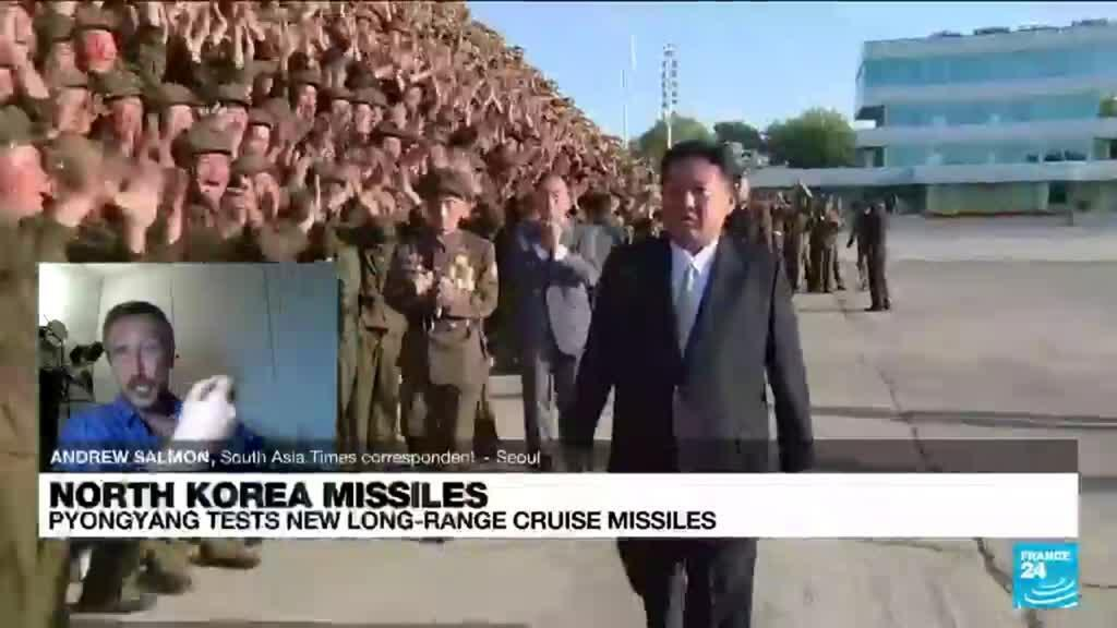2021-09-13 13:01 N.Korea tests first 'strategic' cruise missile with possible nuclear capability