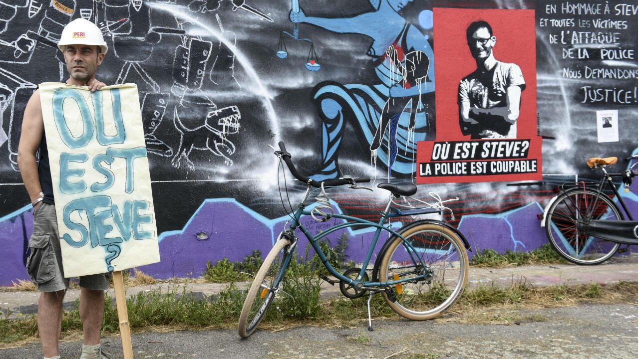 Le 20 juillet, à Nantes, des centaines de manifestants dénonçaient la disparition de Steve.