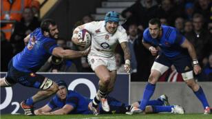 Les Anglais devaient battre les Bleus par 26 points d'écart pour remporter le Tournoi des VI nations.