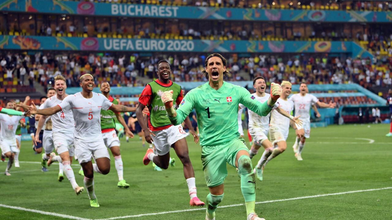 """ربع نهائي كأس الأمم الأوروبية: سويسرا تتطلع """"للإطاحة"""" بإسبانيا ومواجهة نارية بين بلجيكا وإيطاليا"""