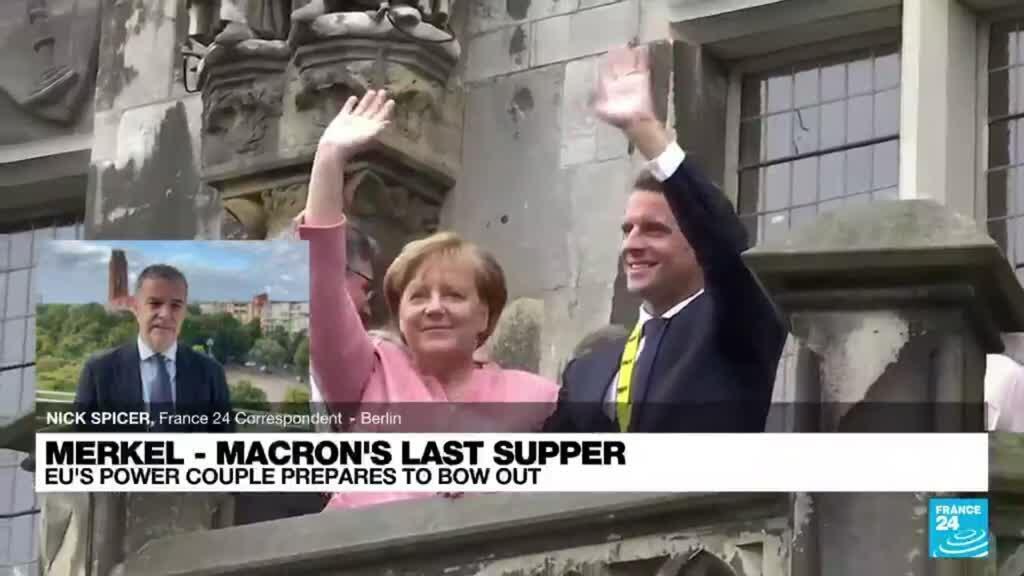 2021-09-16 09:10 End of 'Merkron': EU's power couple prepares to bow out