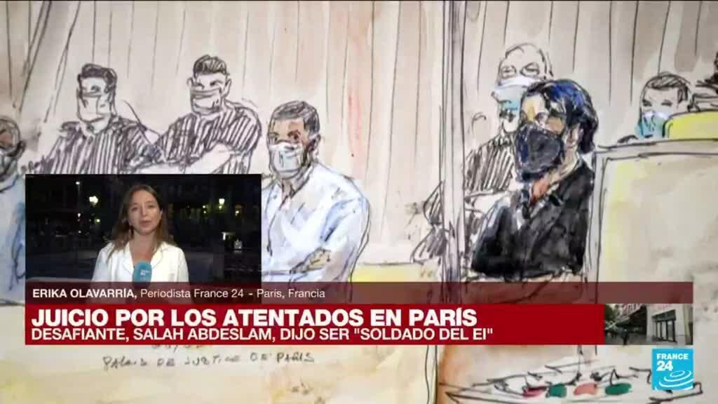 2021-09-09 01:32 Informe desde París: así transcurrió el primer día del mayor juicio en la historia de Francia