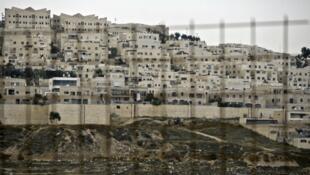 مستوطنة إسرائيلية في الضفة الغربية المحتلة 5 شباط/فبراير 2015.