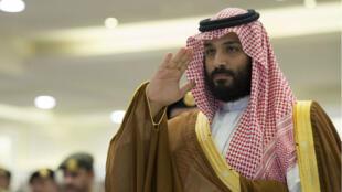 """Mohammed ben Salmane a qualifié mardi 7 novembre l'implication présumée de l'Iran dans la livraison de reblles yéménites """"d'agression directe""""."""