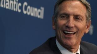 Former Starbucks CEO Howard Schultz is weigihing a run for president