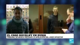 2021-02-20 13:38 Informe desde Moscú: Tribunal rechazó la apelación de Alexéi Navalny