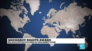 2020-10-22 12:12 Belarus opposition wins EU human rights prize
