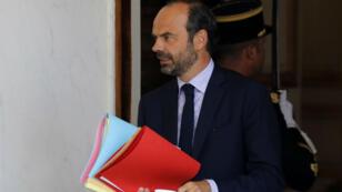 Édouard Philippe à l'Élysée, le 28 juin 2017.