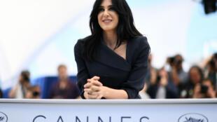 La réalisatrice libanaise Nadine Labaki lors du festival de Cannes-2018.