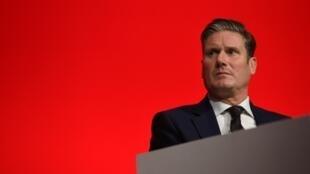 El candidato a liderar el Partido Laborista, Keir Starmer, el 25 de septiembre de 2018 en Liverpool.