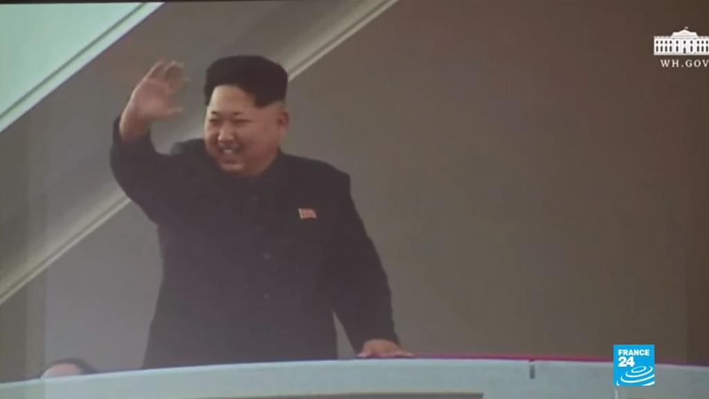 Fotograma de un video propagandístico realizado por la Casa Blanca para promocionar la negociación entre Corea del Norte y Estados Unidos.