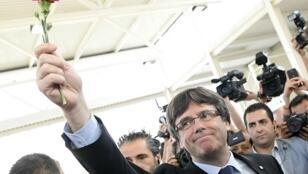 رئيس كاتالونيا الانفصالي كارلس بيغديمونت
